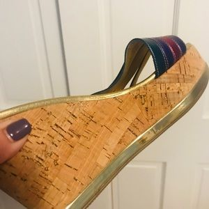 Prada Shoes - Authentic Prada Cork Wedge Sandal **Never Worn**